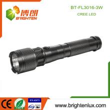 Factory Hot Sale Emergency 2 C Batterie à commande tactile en aluminium Q3 Cree Long Distance Power Light Led Torch