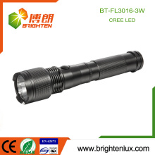 Factory Hot Sale Emergency 2 C Battery Operated Tactical Aluminum Q3 Cree Long Distance Power Light led Torch