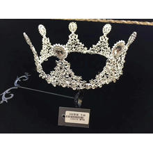 Bridal Wedding Accressories Diamond Crystal Crown