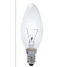 C35 E27 7W Clear Incandescent Bulb with Promotion
