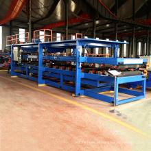 painel composto de alumínio perfurado linha de máquina de prensagem