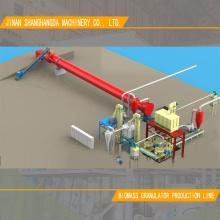 Europe Standard Wood Pellet Machine Production Line