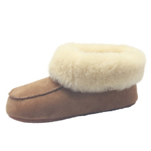 Women best walking warmest winter sheepskin indoor boots