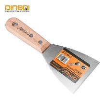 Couteau à mastic DingQi Scrapper avec manche en bois