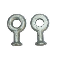 Largement utilisé Q Type Galvanisé Forgé Acier Bague à œil et à tête à billes