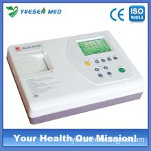 Portable Three Channel Digital Medical ECG Machine