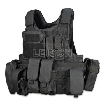 Military Tactical Vest with Quick Release System