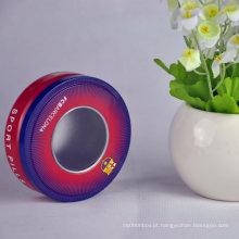 Venda Por Atacado Gift Gift Small / Round Chocolate Tin Box Metal Tin Box