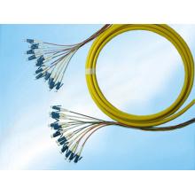 Одиночный режим LC оптического волокна PLC сплиттер пара