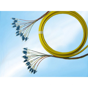 Pares do divisor do PLC da fibra óptica do LC do único modo