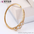 50983-Xuping New Style Crystal Gold Bangle with 18K Gold Plated