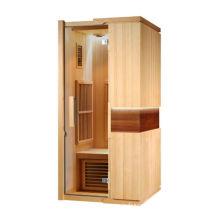 Single Person Far Infrared Sauna, Home Infrared Light Sauna Bath 1400watt