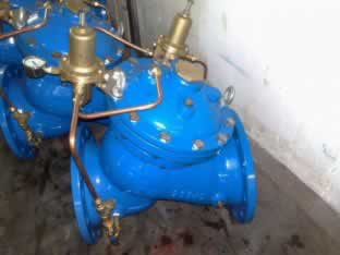 High Performance AX742X Relieving / Sustaining Water Control Valve For Waterworks Purpose