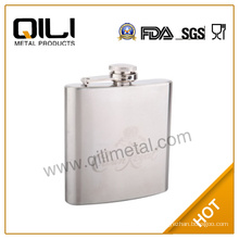 stainless steel whisky 18oz stainless steel hip flask with customized logo