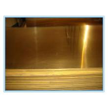 Half hard brass dinner plate copper sheet