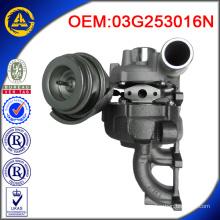 Vente chaude GT1749V 038253019C turbocompresseur