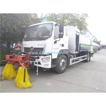 Foton 4x2 water tank spray cleaning truck