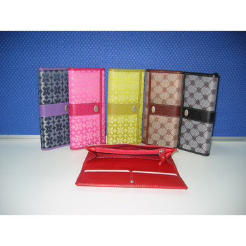 Artificial Lady′s Wallet Set, Lady Purse