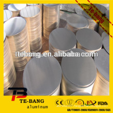Aluminum cookware circle