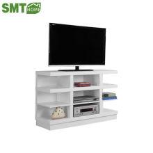 Commercial melamine MDF PB movable tv bench