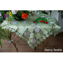 Tableclothes Qingdao Area Fh-49 in Green Fabric
