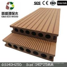 Gswpc wpc decking floor Proveedor de China Hot Sale Piscina Piso de azulejos