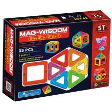 Инновационные пластиковые строительные игрушки MAG-WISDOM