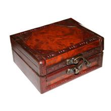 Boîte à machine en bois de tatouage
