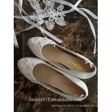 Le dernier design stiletto très haut des femmes à talons hauts fantaisie femmes plate-forme chaussures de mariage WS047