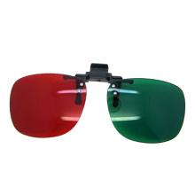 Gafas de sol del clip de la nariz de la promoción, gafas de sol de encargo (vidrios 3D SD9004) I