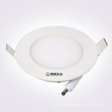 Круглый тонкий светодиодный панельный светильник с изолированным драйвером
