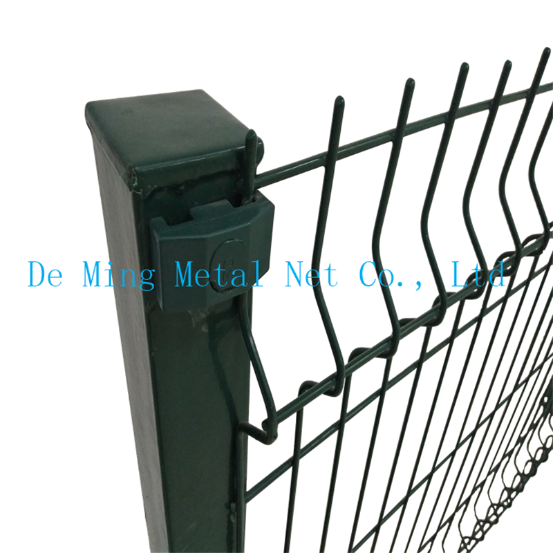 wire mesh fencing square post