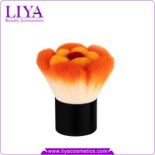 Schönheit farbige synthetische Blume Kabuki Pinsel mit Probe vorhanden
