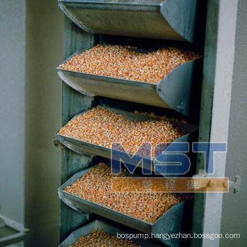 Elevator conveyor belt bucket elevator belt