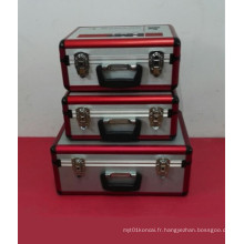 Belle étui en aluminium à haute qualité en alliage (avec de nombreuses tailles)