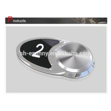Top OEM vender botão elevador preto