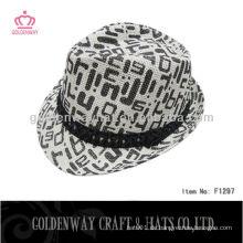 Heißer verkaufender preiswerter Junge Fedora Hut