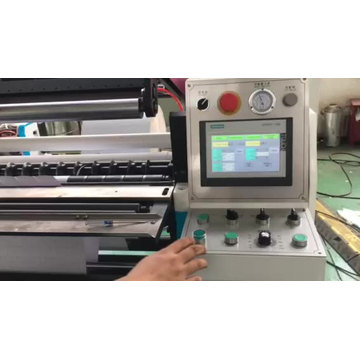 Automatic Bank ATM Roll Slitting Rewinding Production Line