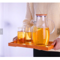 New Good Price Customized Logo Tea Sets With Teapot eco friendly handmade heat resistant glass