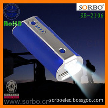 Charger Portable Battery with High Power Flashlight