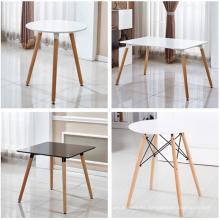 mesa redonda 80 * 72,5 cm mesa de MDF asiento