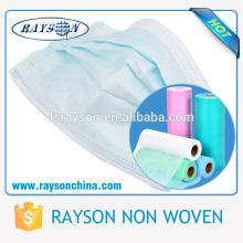 Máscara protectora descartável não tecida limpa médica de Foshan