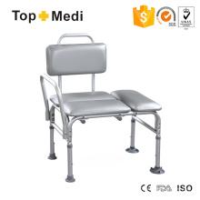 China Lieferant Topmedi Standard Größe Luxus Bad Tisch Stuhl