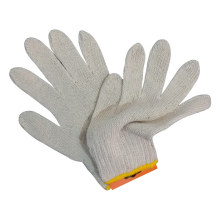 White Knitted Cotton Gloves Safety Work Glove