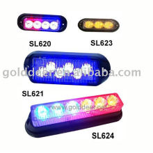 Emergency Warning Light Grille Mount Auto Led Strobe Light