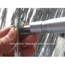cross razor blade wire
