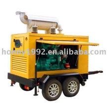 Génératrices diesel atténuées sonores (20kva à 550kva)
