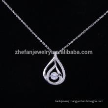 Guangzhou jewelry led pendant light diamond key pendant