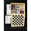 Juego de madera 7 en 1 juego de ajedrez multi al por mayor