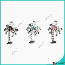 Ювелирные изделия кристаллы кокосовое дерево небольшой подвески (ПСН)